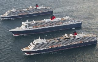 Cunards three Queens