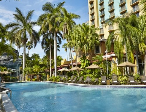 Embassy Suites Fort Lauderdale is ideal hotel for a pre-cruise stay