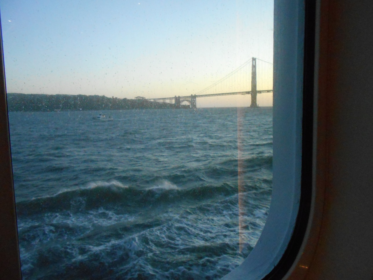 Leaving SFO on Regent Seven Seas Mariner