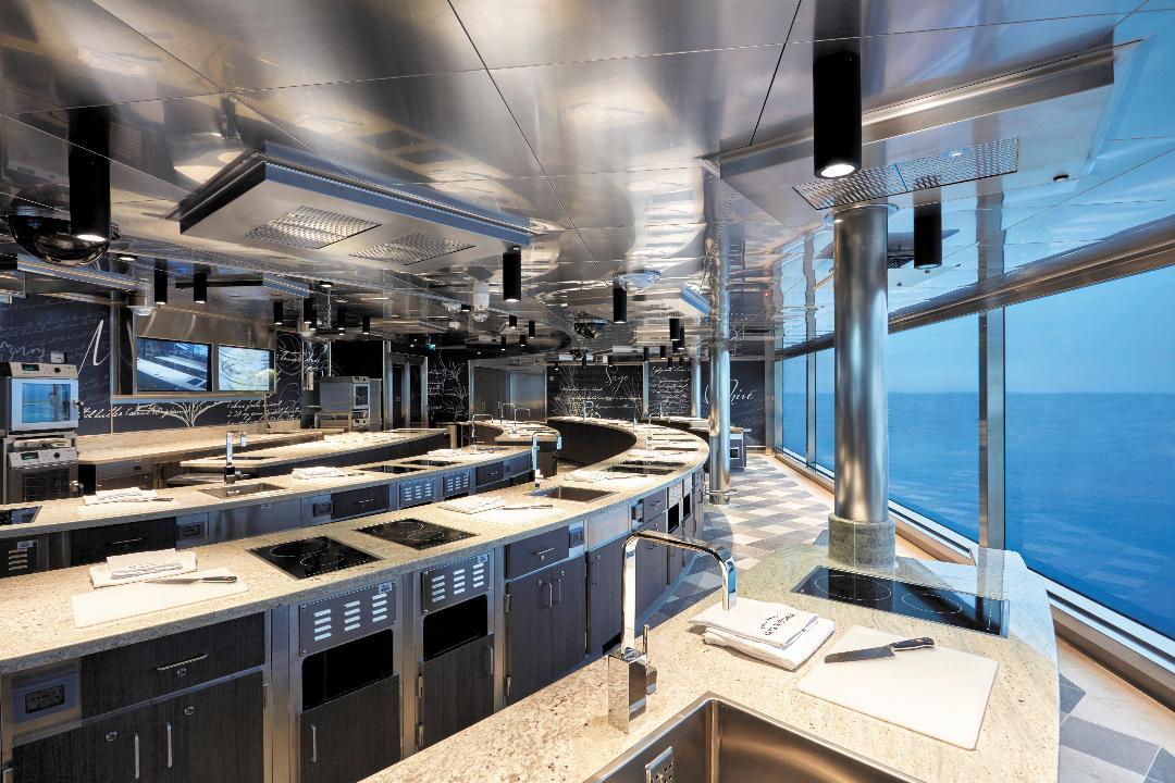 Regent Seven Seas Cruises Culinary Arts Kitchen