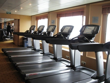Gym at Sea