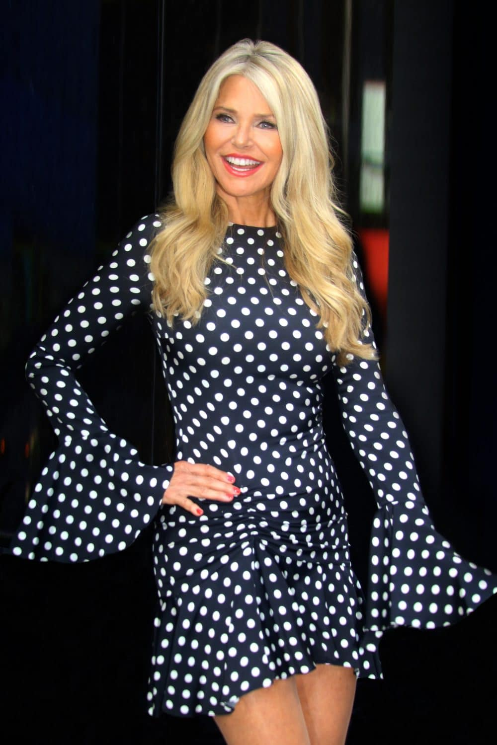 Christie Brinkley - Godmother of Seven Seas Splendor