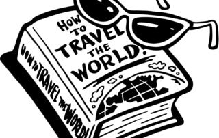 How to Travel the World Clip Art