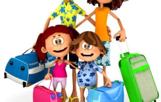 Tips Family Travel Clip Art