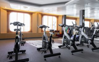 Fitness facilities on ships