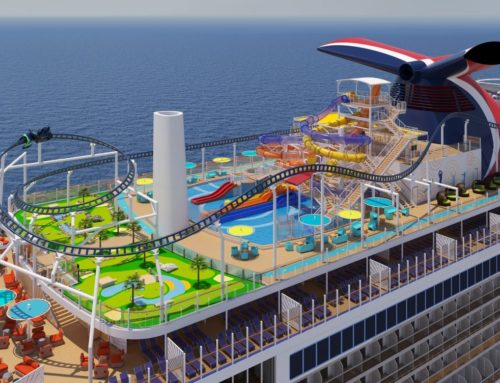Check out the spectacular new ships for Princess, Costa, Carnival and P&O