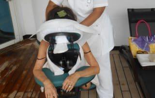 Free mini massages on Seabourn