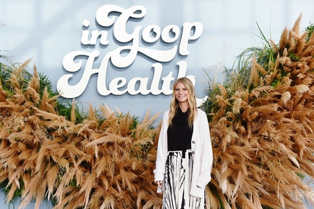Gwyneth Paltrow brings goop to Celebrity Apex