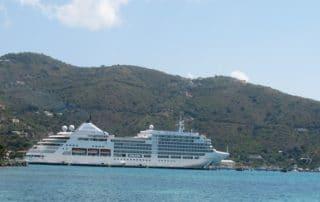 Silversea Silver Spirit in Tortola
