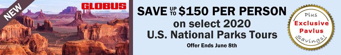 Globus USA $150