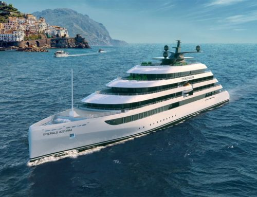 Glamorous yacht offers taste of rich and famous lifestyles