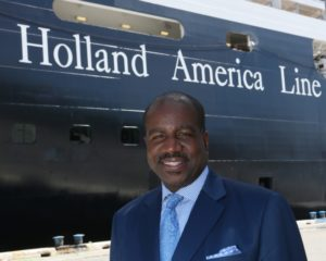 Orflando Ashford leaves Holland America