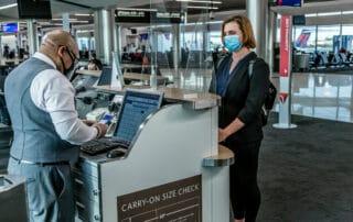 Masks mandatory on Delta