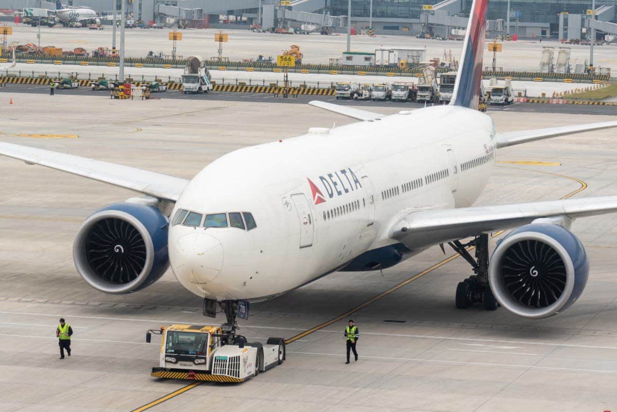 Delta gets okay to fly from China