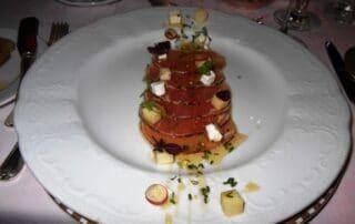Crystal Cruises cuisine