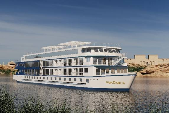 AmaWaterways rolling down the rivers again