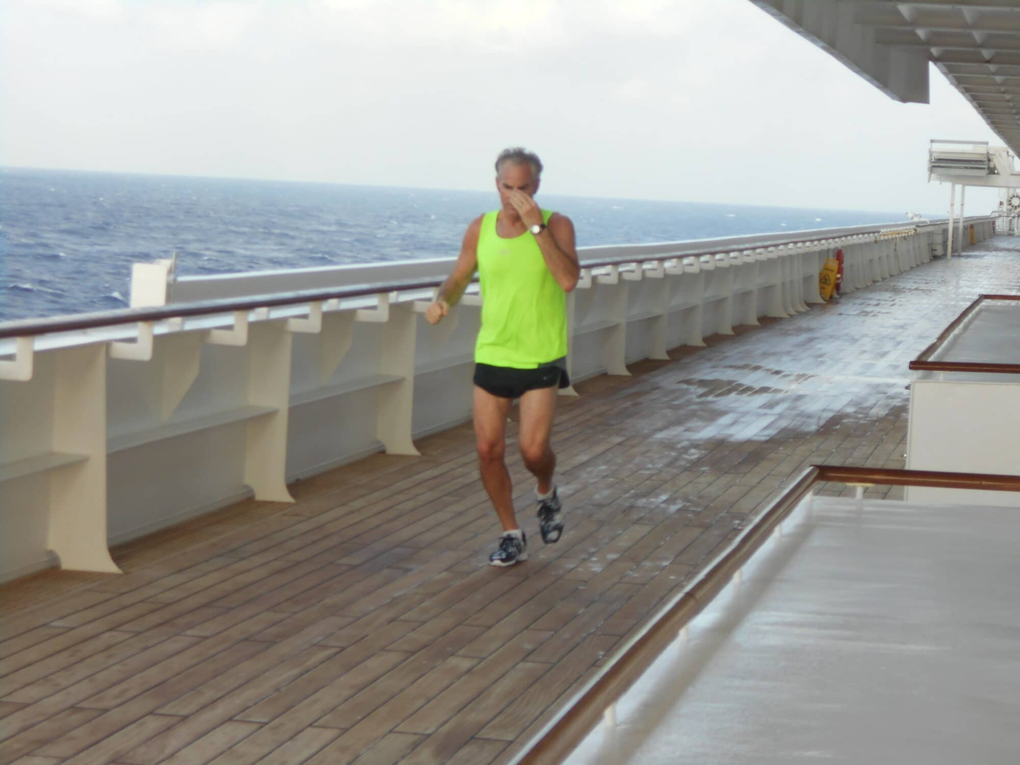 Easy to stay in shape on Crystal Symphony