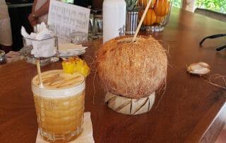 Happy hour at the Brando Tahiti