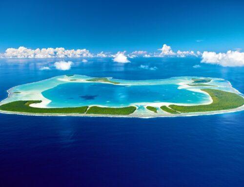 On the waterfront at Marlon Brando's 'Stella' Tahitian island resort