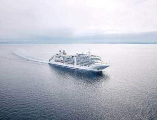 Moon struck moments watching Silversea's newest ship ace her sea trials