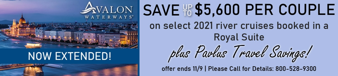 Avalon Royal Suite Savings Extended