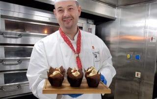 Cunard chef shares muffin recipe
