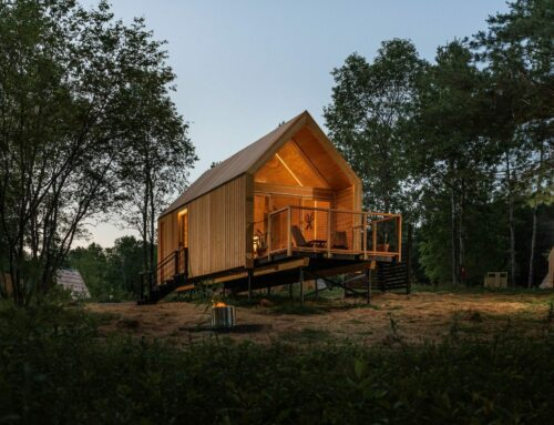 Glorious glamping in a Lushna in the Catskill Mountains