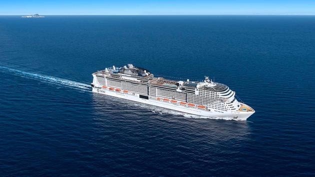 MSC resumes cruises in Europe