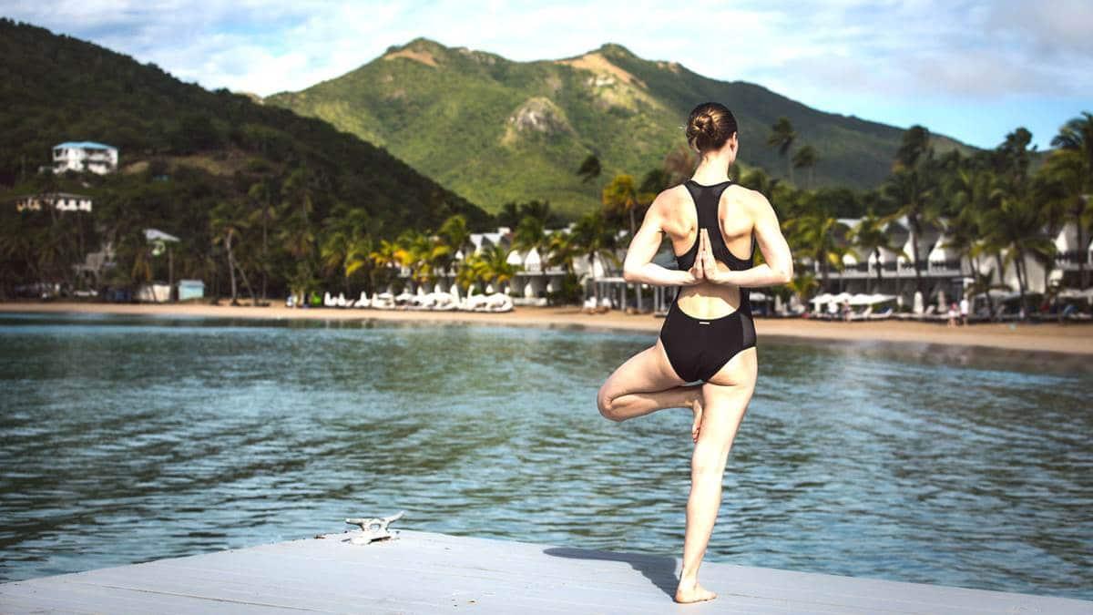 Yoga at Carlisle Bay Resort Antigua