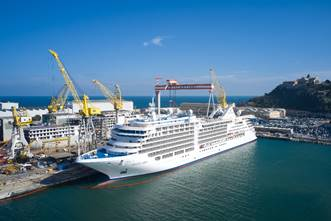 Silversea takes delivery of Silver Moon