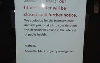 Maui during COVID19